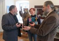 Наталья Иволгина в Козельском музее
