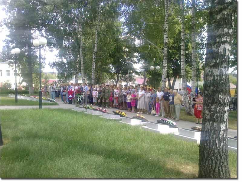 Митинг 22 июня 2011г. Козельск