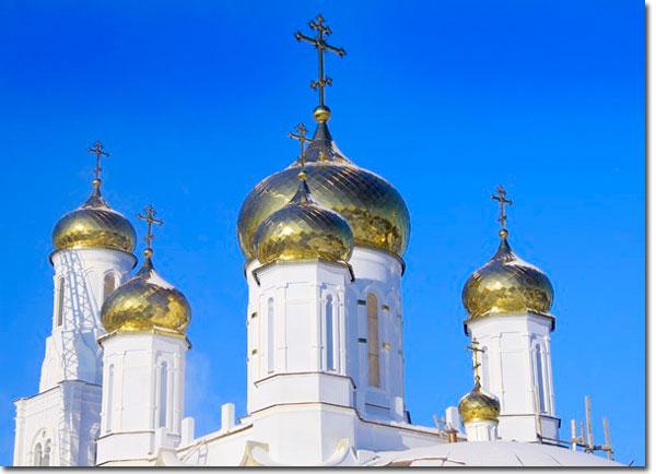 Козельск. Храм Богоявления