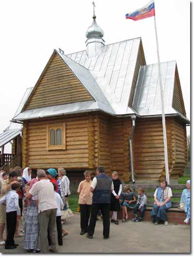 Храм при Детском центре