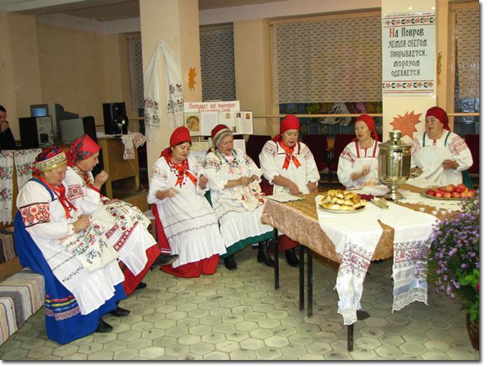 Покровские посиделки в Дешовках