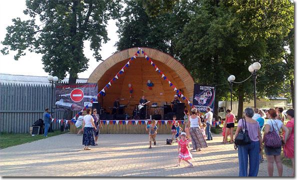 Козельск. Городской парк. Рок фестиваль