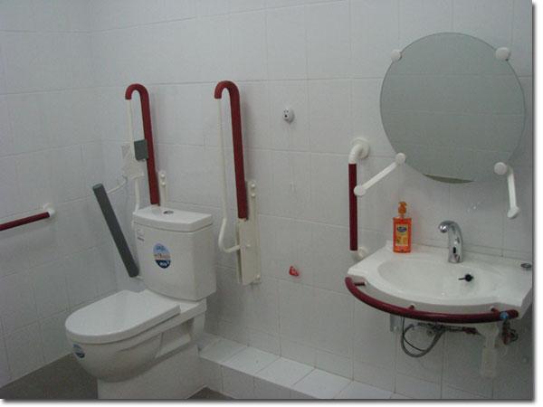 Даже такое есть в РДК. Туалет для инвалидов.