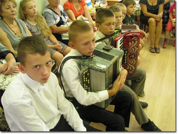 Первый концерт в новом здании