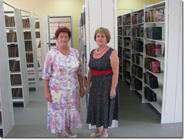 Новая библиотека