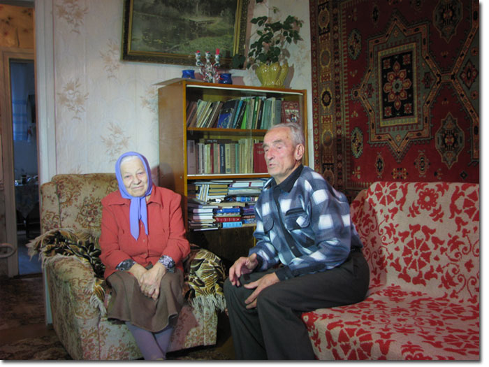 В.И.Коротков с супругой