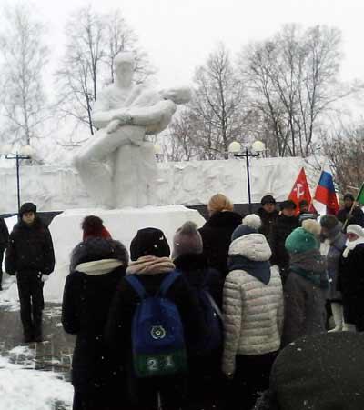 Козельск 23 февраля 2017